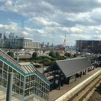 Photo taken at NJT - Port Imperial Light Rail Station by Vaughn B. on 8/14/2014