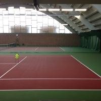 Photo taken at Kronprinsens Tennishall & Tenniscenter by Jenny N. on 4/24/2013