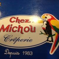 Photo taken at Chez Michou Crêperie by Joao M. on 10/12/2012