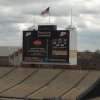 Photo taken at Ross-Ade Stadium by Kris R. on 4/13/2013