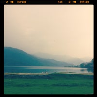 Photo taken at Phewa Tal / Fewa Lake by Maria G. on 5/17/2013