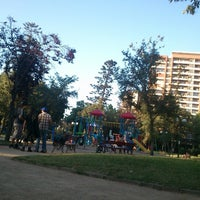 Photo taken at Plaza Eusebio Lillo by Héctor P. on 12/9/2012