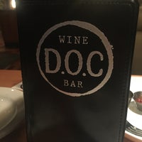 Photo taken at DOC Wine Bar by Tineka N. on 11/17/2015