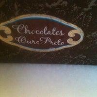 Photo taken at Chocolates Ouro Preto by Thaís d. on 12/29/2012