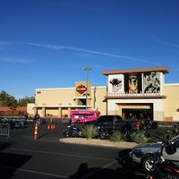 Photo taken at Red Rock Harley Davidson by Stardust F. on 11/8/2014