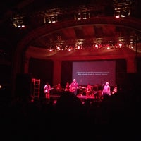 Photo taken at Newport Music Hall by Sarah K. on 10/11/2013