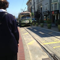 Photo taken at MUNI Bus Stop - Castro & 17th by 🌟Misty B. on 9/13/2013