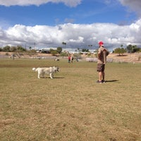 Photo taken at Echo Mountain Dog Park by Hope D. on 3/2/2014