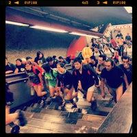 Photo taken at Metro Mixcoac (Líneas 7 y 12) by Alberto Q. on 1/13/2013