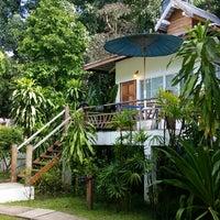 Photo taken at Rim Pai Cottage by Jasper v. on 7/27/2014