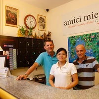 Photo taken at amici miei hotel by amici miei hotel on 12/31/2014