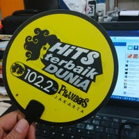 Photo taken at Prambors Radio 102.2 FM by Danan DNA on 12/11/2013