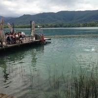Photo taken at Banys Vells Banyoles by Sergi P. on 8/24/2014