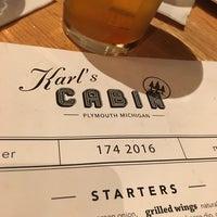 Photo taken at Karl's Cabin Restaurant by Tim E. on 10/15/2016