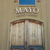 Photo taken at Mayo Family Winery by Christian G. on 12/23/2015