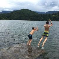 Photo taken at Großer Montiggler See / Lago Grande di Monticolo by Sandro S. on 6/19/2016