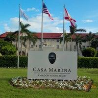 Photo taken at Casa Marina, A Waldorf Astoria Resort by Jeff H. on 7/12/2013