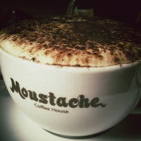 Photo taken at Moustache Coffee House by Fred D. on 6/8/2013