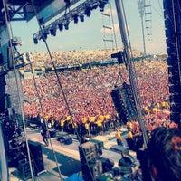 Photo taken at Rock On The Range by Dani R. on 5/19/2013