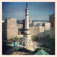 Photo taken at Sheraton Indianapolis City Centre Hotel by Daniel W. G. on 5/7/2013