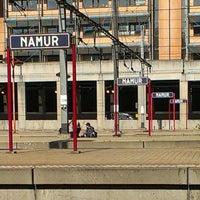 Photo taken at Gare de Namur by Clara H. on 10/2/2013