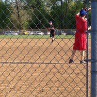 Photo taken at Finley Ray Field by Jeff W. on 4/30/2013