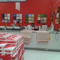 Photo taken at Office Depot Zaragoza by Hector H. on 8/16/2013