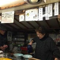 Photo taken at 屋台 呑龍 by Mamoru on 10/31/2015