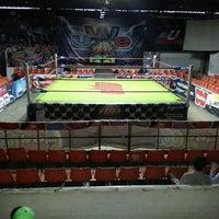 Photo taken at Arena Adolfo Lopez Mateos by Jose Luis R. on 7/7/2013