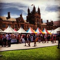 Photo taken at The University of Sydney (USYD) by Callum F. on 2/28/2013