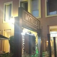 Photo taken at Mytilus Resto by Yana B. on 8/19/2014