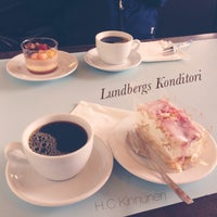 Photo taken at Lundbergs Konditori by Chris K. on 5/12/2014