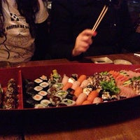 Photo taken at Sushi Ya San by Luciana C. on 1/6/2014