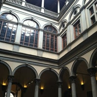 Photo taken at Palazzo Strozzi by ash. a. on 10/8/2012