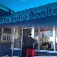 Photo taken at La India Bonita by ESTHER on 11/18/2012