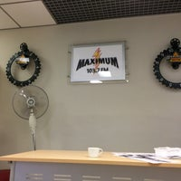 Photo taken at Maximum 103.7 FM by Наталия К. on 10/5/2016