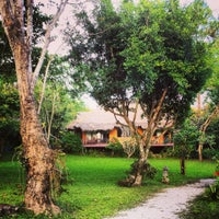 Photo taken at Hmong Hilltribe Lodge Chiang Mai by Riccardo G. on 11/24/2013