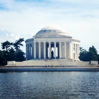 Photo taken at Tidal Basin by Abby on 7/14/2013