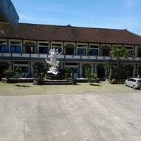Photo taken at SMKN 4 Denpasar by Dje R. on 7/17/2013