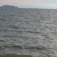 Photo taken at Wonnapa Beach by Wannapa K. on 9/23/2012