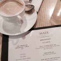 Photo taken at Maze Restaurant by ryanne on 6/16/2015