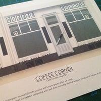 Photo taken at Coffee Corner by Nick B. on 5/18/2013