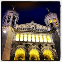 Photo taken at Basilica of Notre-Dame de Fourvière by gus on 4/17/2013