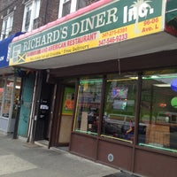 Photo taken at Richard's Diner by Erica J. on 4/20/2013