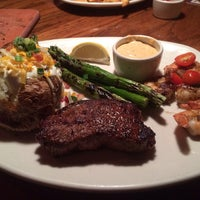 Photo taken at Outback Steakhouse by Ashley F. on 1/29/2014