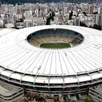 Photo taken at Mário Filho (Maracanã) Stadium by Rodrigo C. on 7/13/2013