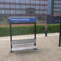 Photo taken at Station Almere Centrum by Ikkepikkepum E. on 5/30/2013