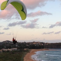 Photo taken at Mona Vale Beach by batur a. on 4/1/2013