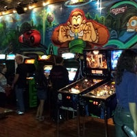 Photo taken at Emporium Arcade Bar by Will E. on 10/5/2013