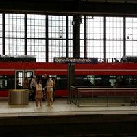 Photo taken at Bahnhof Berlin Friedrichstraße by Johnson A. on 7/14/2014